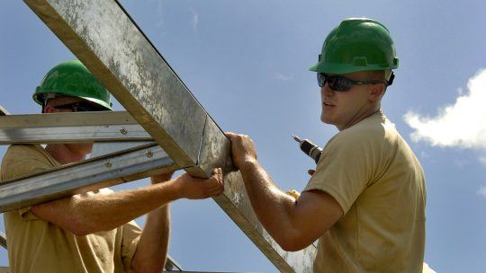 A quel moment de la construction intervient le gros oeuvre ?